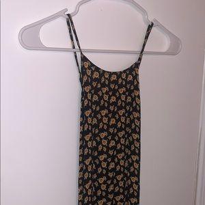Sunflower, open back Maxi Dress